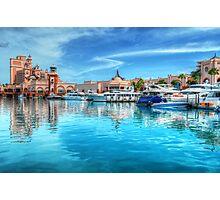 Marina and Atlantis Towers - Paradise Island, The Bahamas Photographic Print