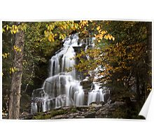 Bijoux Falls in beautiful British Columbia Poster