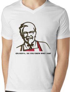 Grandpa Mens V-Neck T-Shirt