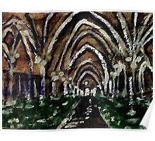 Arches glore,  watercolor Poster