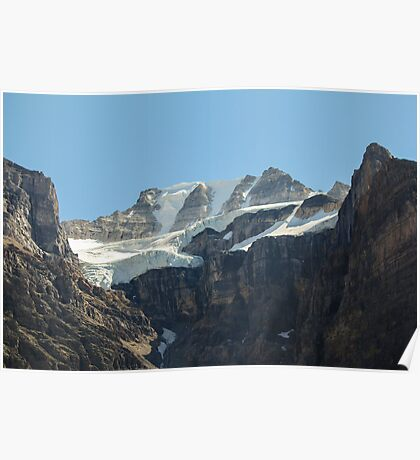 Hanging Glacier Poster