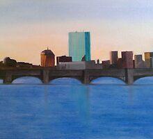 Boston Skyline by Ken Pratt