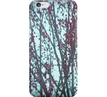 Blue And Red Spring iPhone Case/Skin