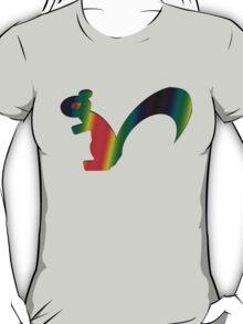 Psychadelic Rasta Squirrel T-Shirt