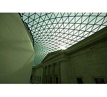 British Museum Glass Roof Photographic Print