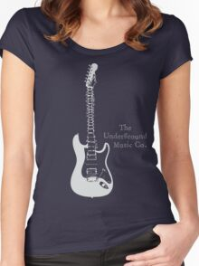 Guitar Spine Women's Fitted Scoop T-Shirt