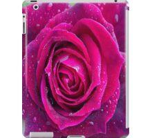 Purple rain rose iPad Case/Skin
