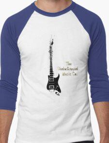 Guitar Spine Men's Baseball ¾ T-Shirt