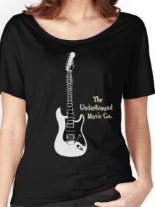 Guitar Spine Women's Relaxed Fit T-Shirt