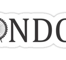London I Sticker