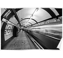 Hampstead Underground Tube Station London Poster