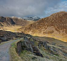 The Old Railway Path,  Snowdon by Matthew Elliott