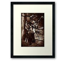 The Angel Slayer. Framed Print
