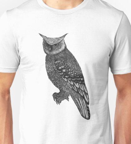 Long Eared Owl Unisex T-Shirt