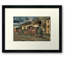 Leaving Porthmadog, North Wales Framed Print