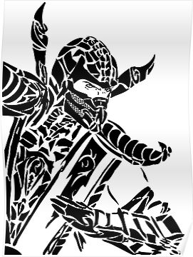 Tribal Scorpion by FailedDEATH666