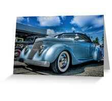 Gotham Cruiser Greeting Card