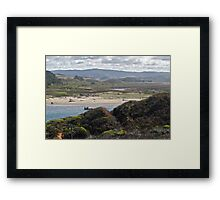 Coastal Tidelands Framed Print