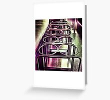 Surgical Double Ring Stand  Greeting Card