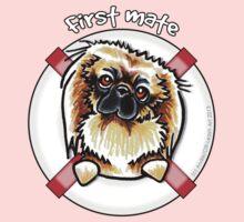 Pekingese :: First Mate One Piece - Long Sleeve