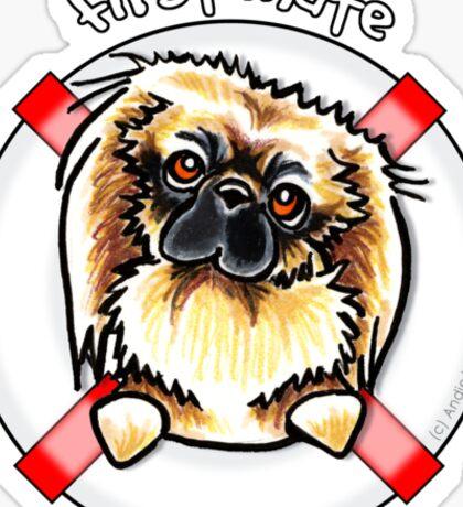 Pekingese :: First Mate Sticker