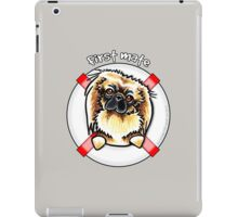 Pekingese :: First Mate iPad Case/Skin