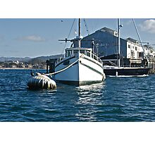 Moored at Monterey Photographic Print
