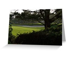 Serenity at the Golf Course Greeting Card