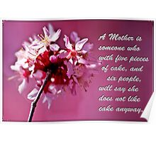 A Mother's Day Sharing Poster