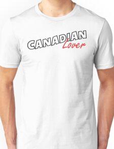 Canadian Lover Unisex T-Shirt