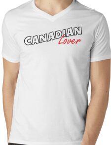 Canadian Lover Mens V-Neck T-Shirt