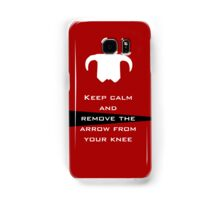 Keep Calm Samsung Galaxy Case/Skin