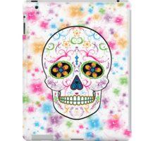Day of the Dead Sugar Skull - Bright Multi Color iPad Case/Skin