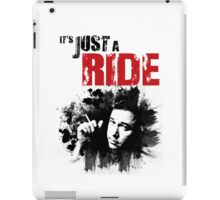 It's Just a Ride - Bill Hicks iPad Case/Skin
