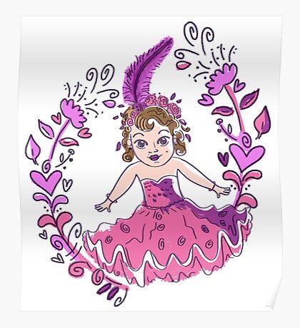 Pretty little kewpie show girl Poster