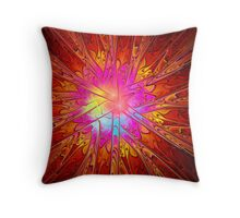 Beyond the Flames Throw Pillow