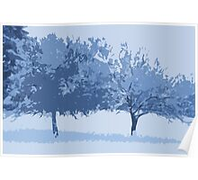 Winter Apples Poster