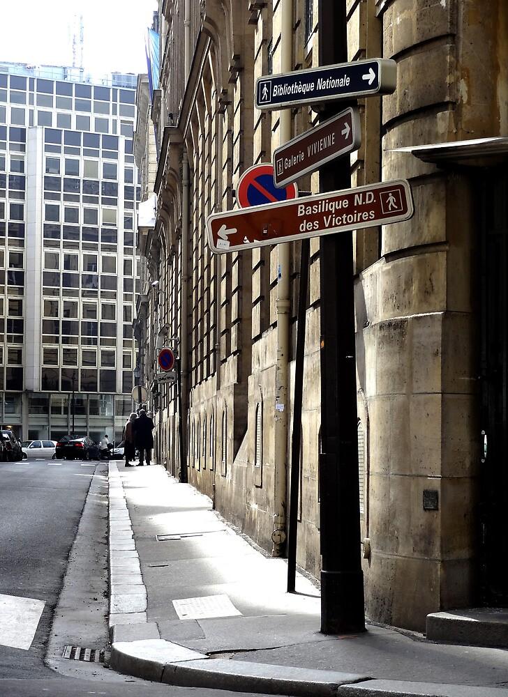 Parisian Street Sign. by ChloeLouise