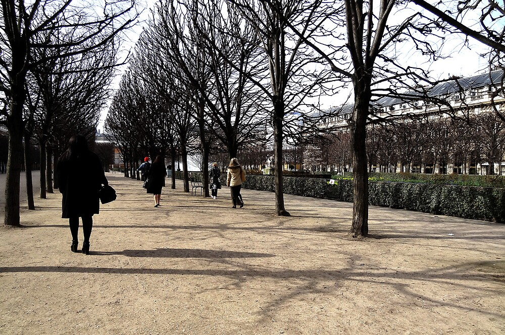 Girl in Parisian Park. by ChloeLouise