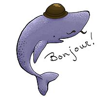 Monsieur Blue Whale is quite a gentleman by Bantambb