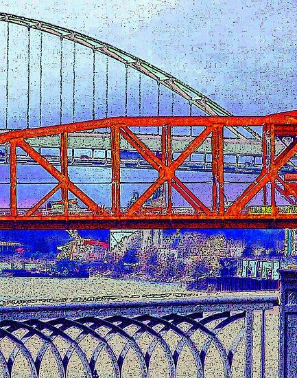 Bridge City by wandringeye
