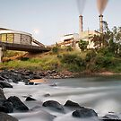South Johnstone Sugar Mill and River - Landscape by RichardCurzon