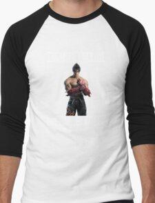 Jin Kazama Men's Baseball ¾ T-Shirt