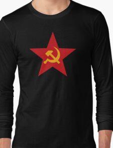 Soviet Red Star Long Sleeve T-Shirt