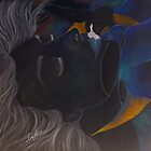 El beso del cisne (inverted) by Erika Tirado