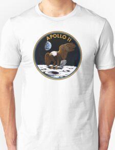 Apollo 11 Patch Art Unisex T-Shirt