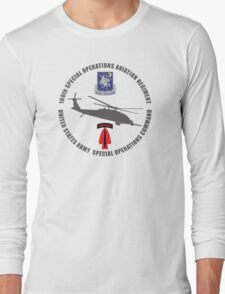 160th SOAR Black Hawk Long Sleeve T-Shirt