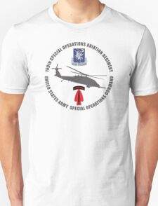160th SOAR Black Hawk T-Shirt