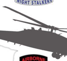 160th SOAR Black Hawk Sticker