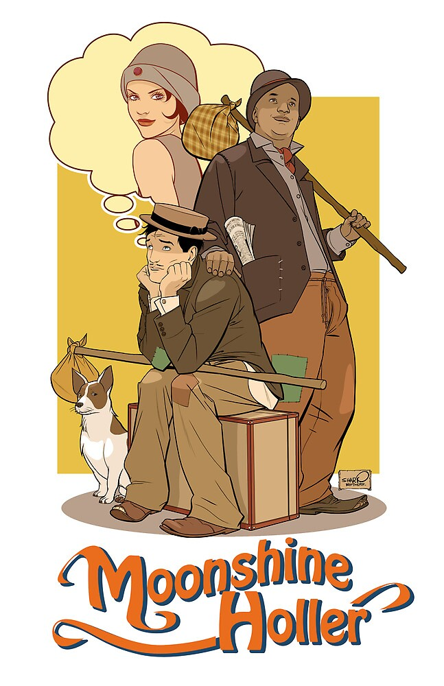 Down in Moonshine Holler - Thrilling Adventure Hour by sharpbrothers
